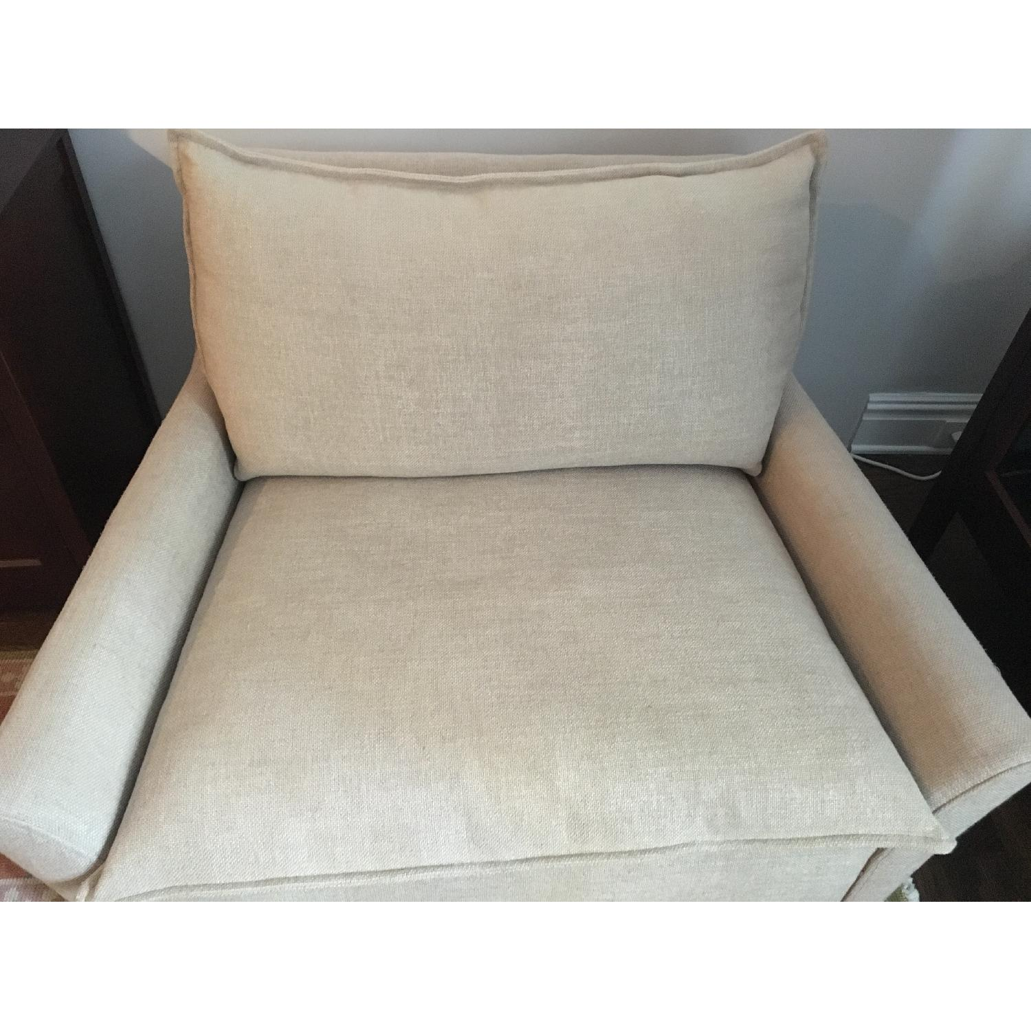 West Elm Bliss Chairs and a Half & Ottoman-3