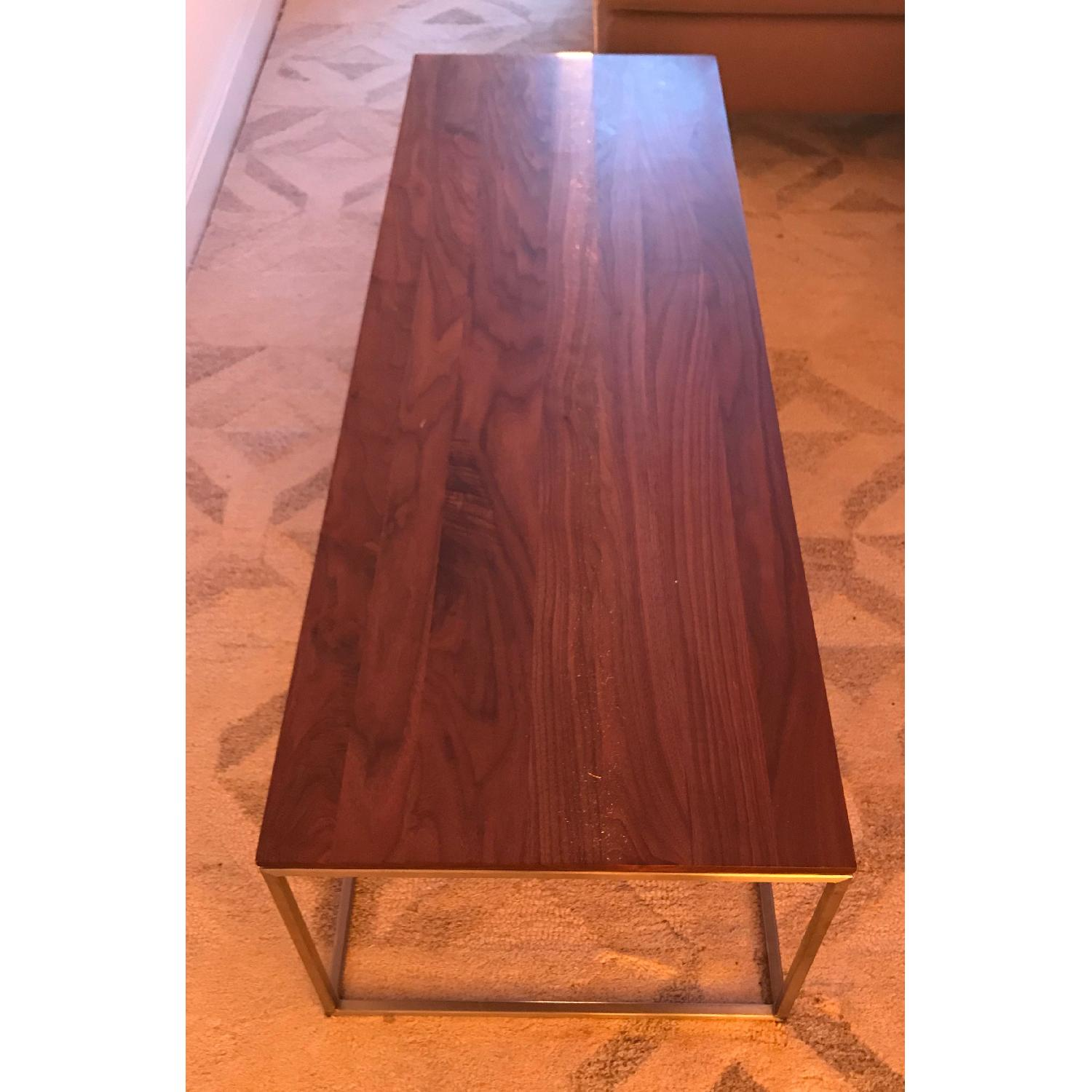 Crate & Barrel Frame Coffee Table-0