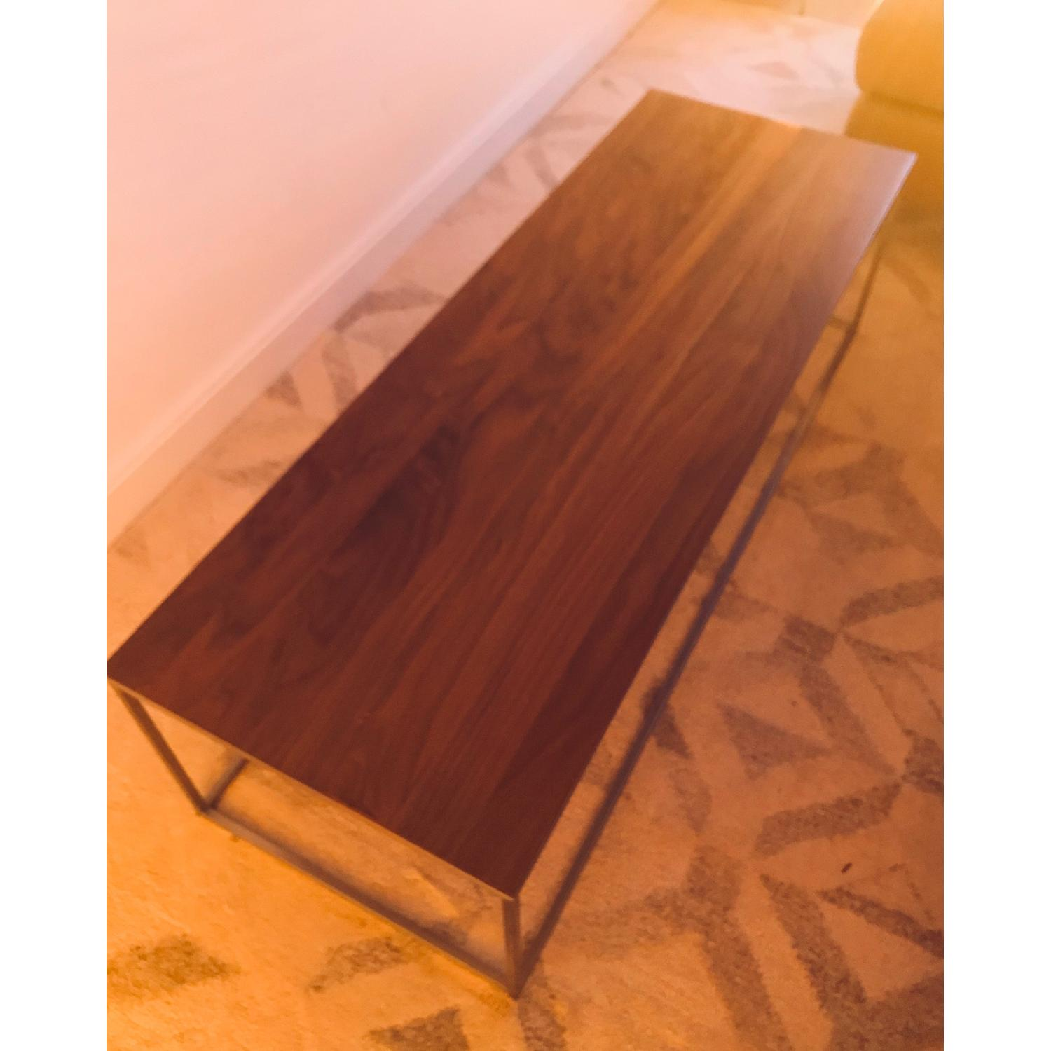 Crate & Barrel Frame Coffee Table-1