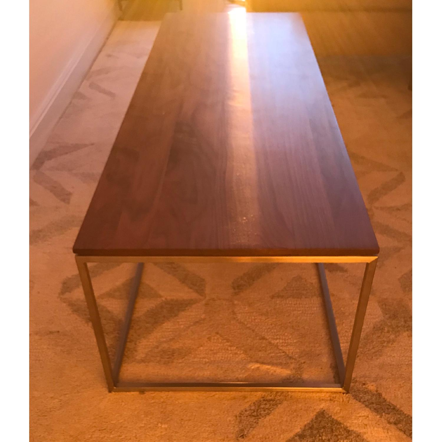Crate & Barrel Frame Coffee Table-2