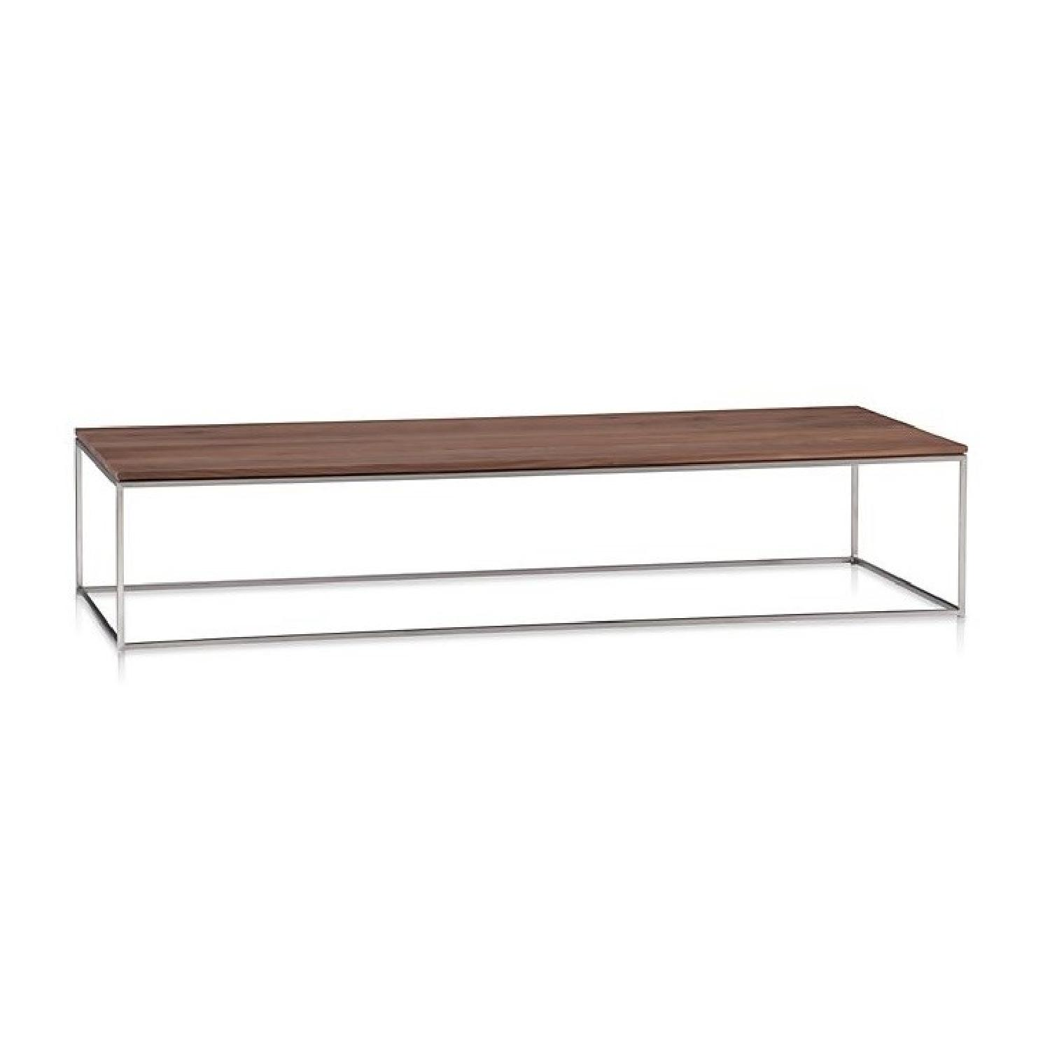 Crate & Barrel Frame Coffee Table-3