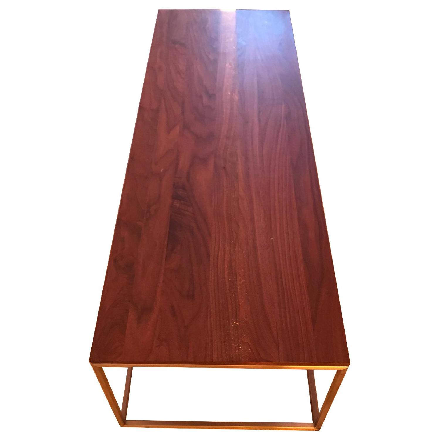Crate & Barrel Frame Coffee Table