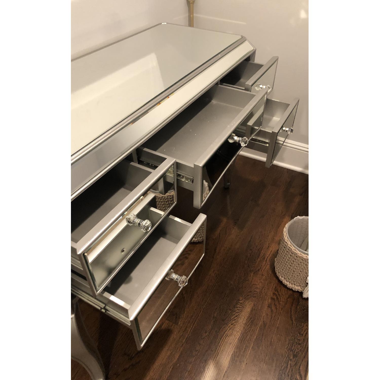 Lina Mirrored Desk Vanity-2