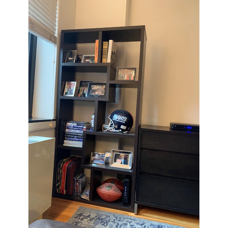 Espresso Bookcase-2