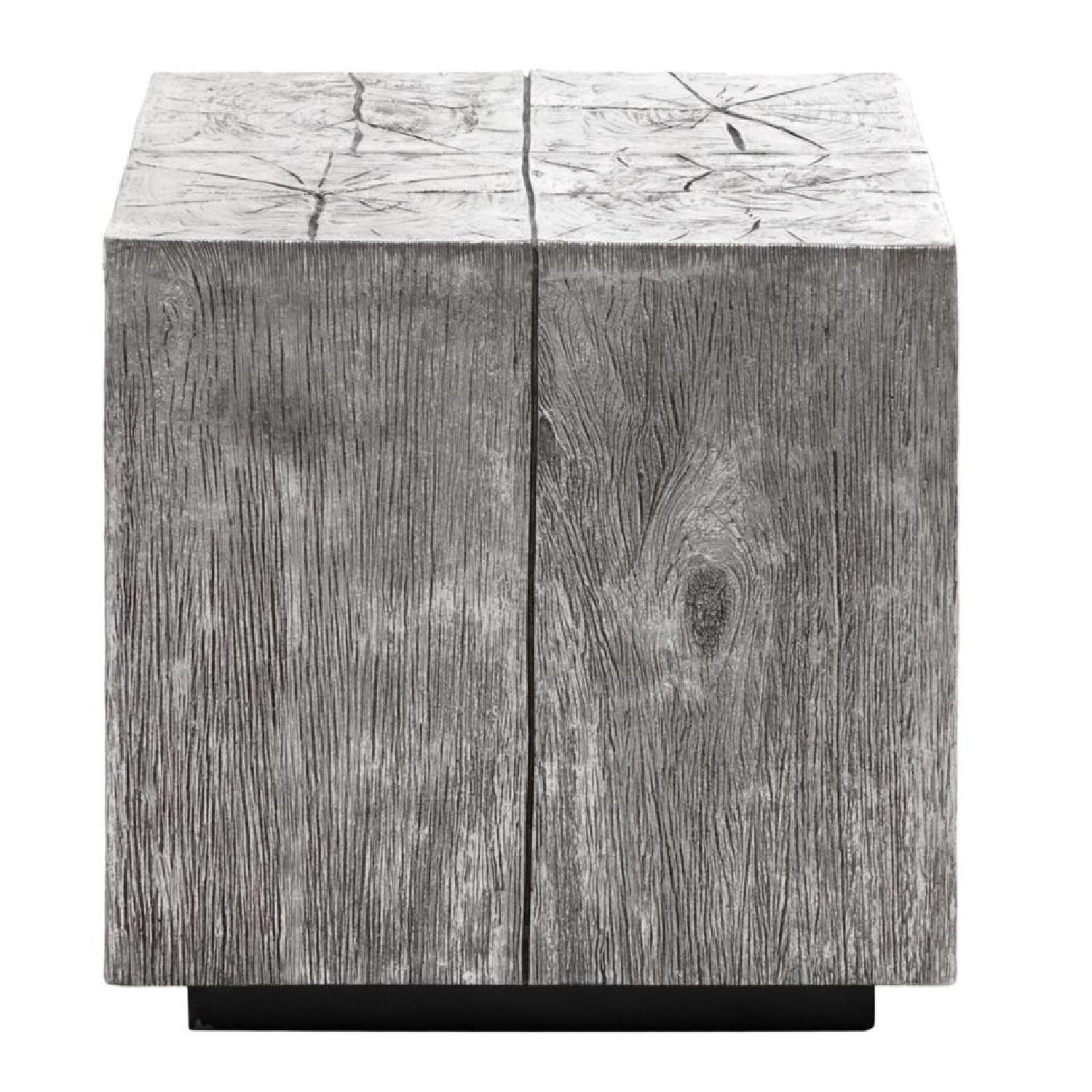 Z Gallerie Timber End Table