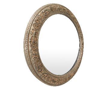 Bombay Co. Framed Round Wall Mirror