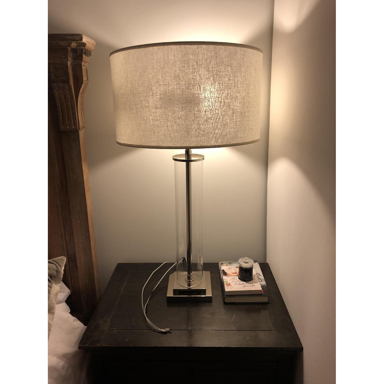 Restoration Hardware French Column Glass Table Lamp-0