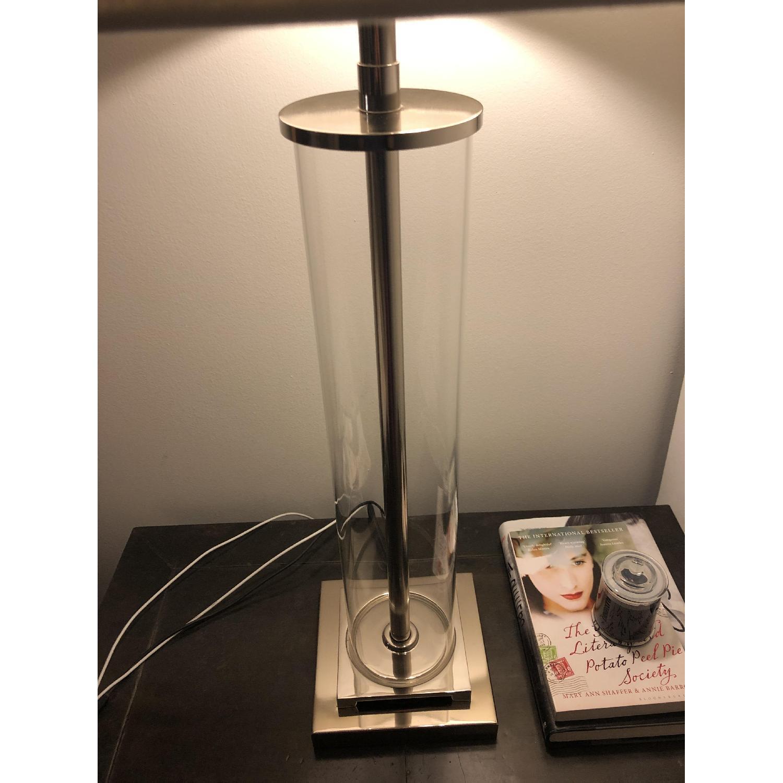 Restoration Hardware French Column Glass Table Lamp-2