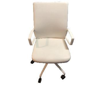 Keilhauer White Chair