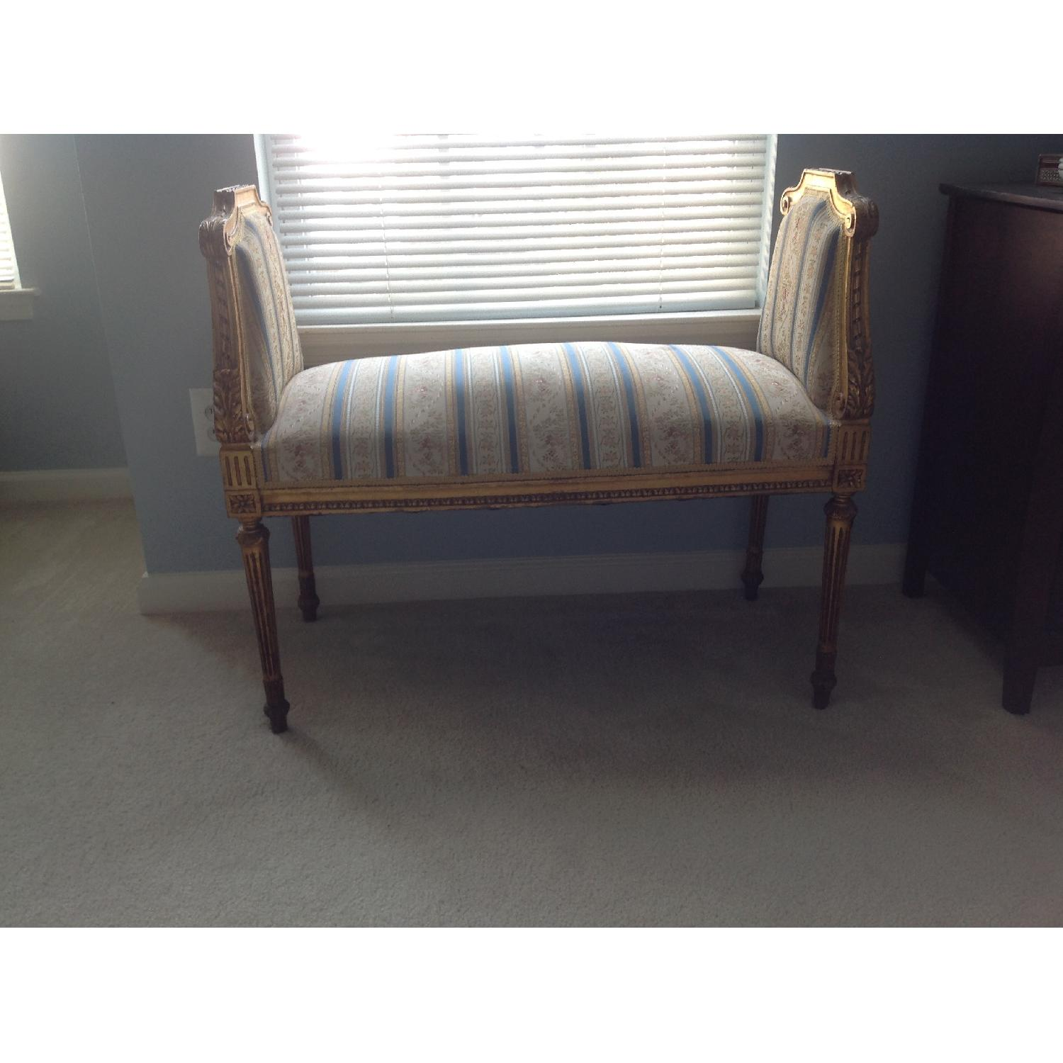 French Style Upholstered Bench-0