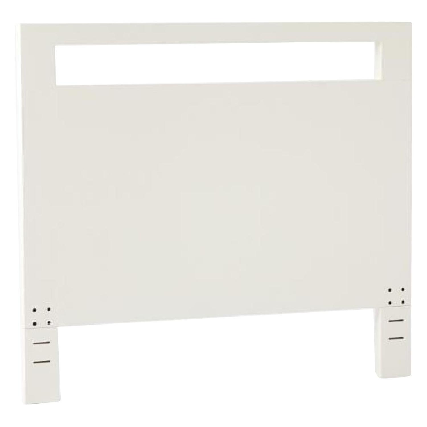 West Elm Tall Cut Out Headboard