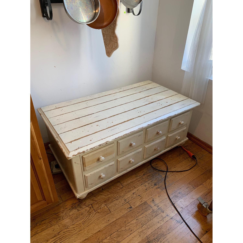 White Wood Chest-1