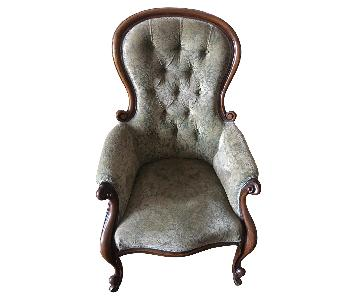 Antique English Victorian Style Chair