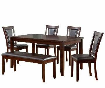Harlow 6-Piece Padded Dining Set