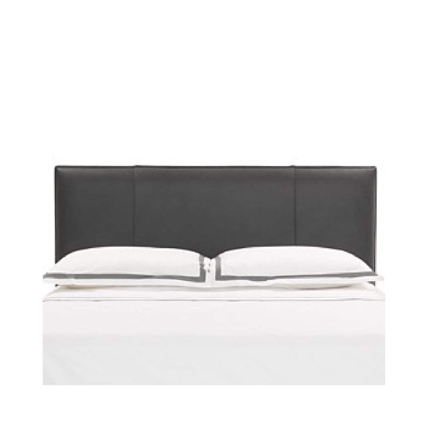 Mitchell Gold + Bob Williams Leather Queen Size Headboard