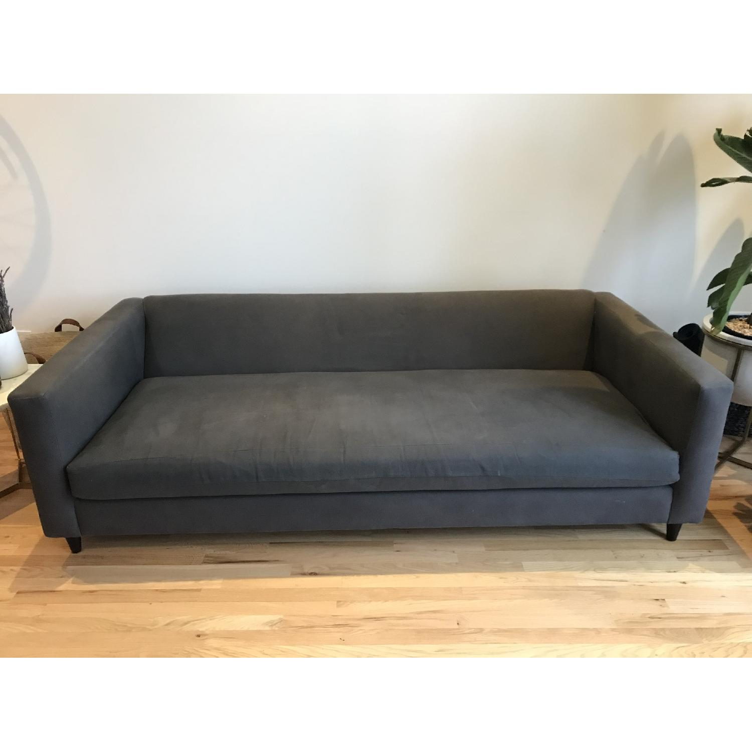 CB2 Movie Sofa in Dark Grey/Blue-0