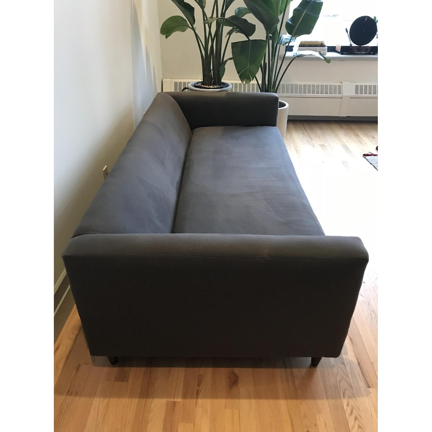 CB2 Movie Sofa in Dark Grey/Blue-2
