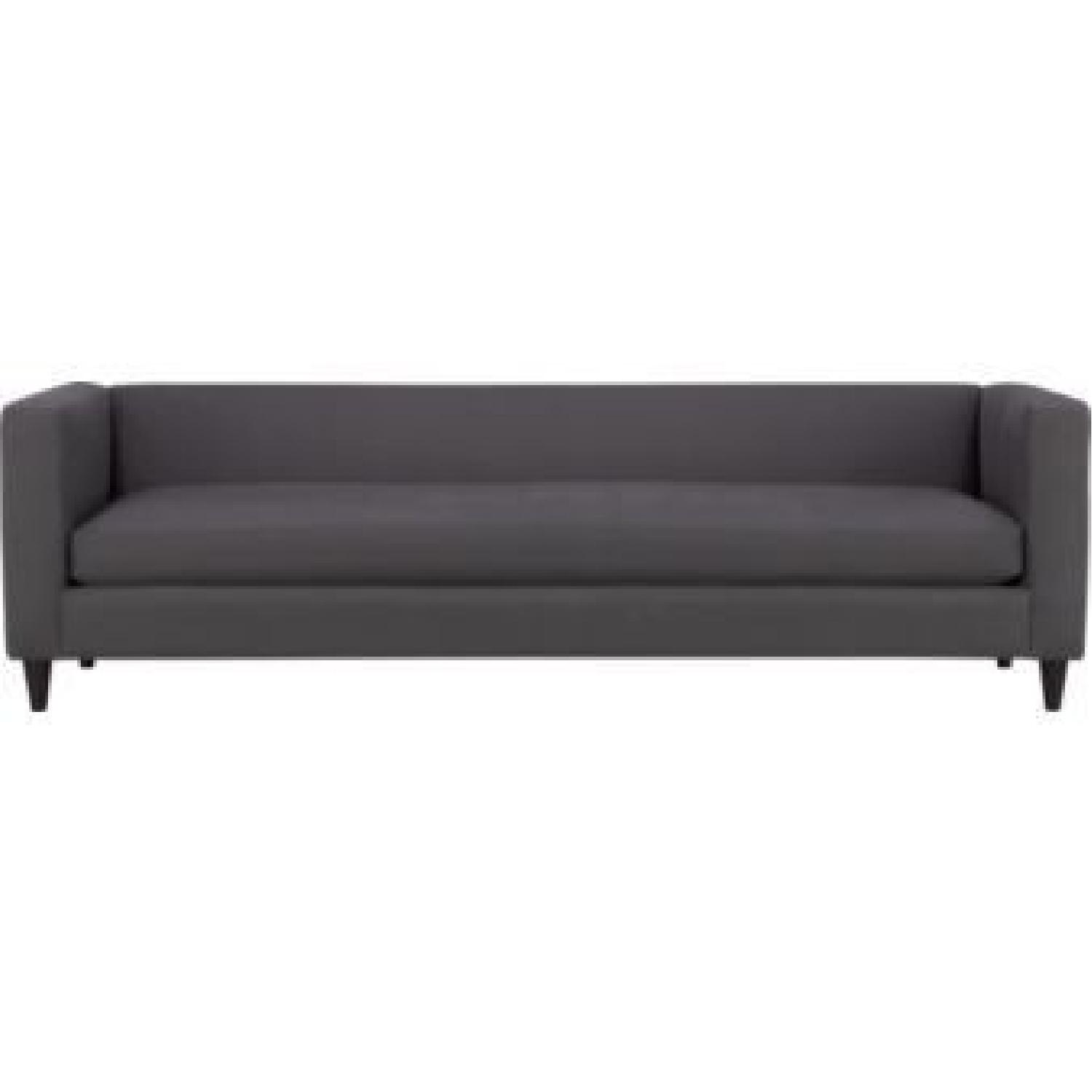 CB2 Movie Sofa in Dark Grey/Blue