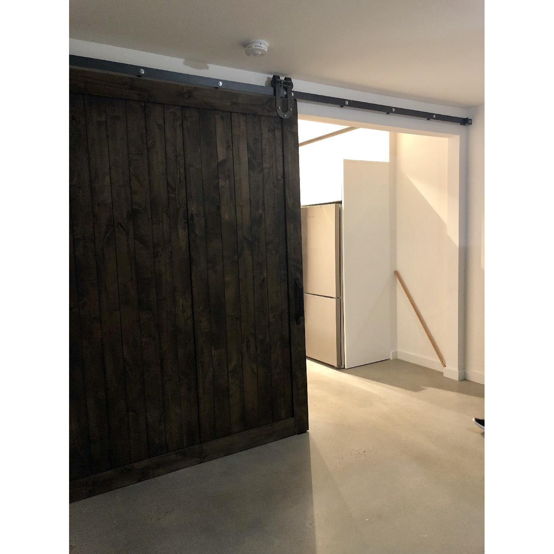 Reclaimed Wood Barn Door W Mounting Hardware Aptdeco