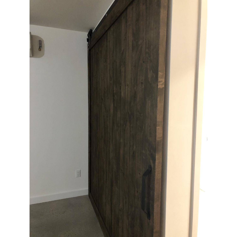 Reclaimed Wood Barn Door w/ Mounting Hardware-2