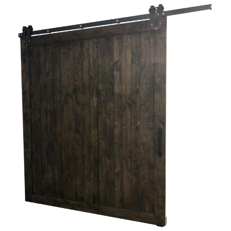 Reclaimed Wood Barn Door w/ Mounting Hardware