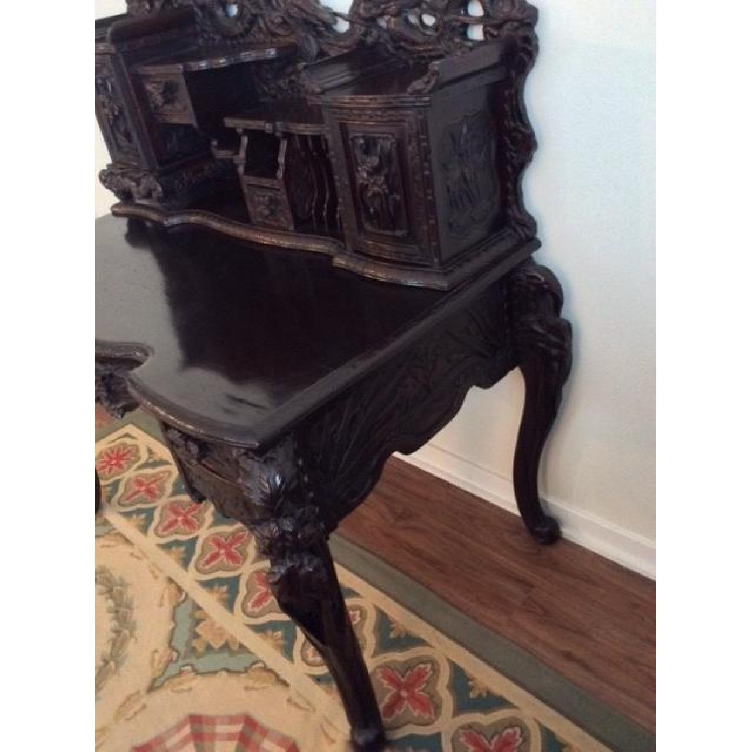 Chinese Hand Carved Desk-1