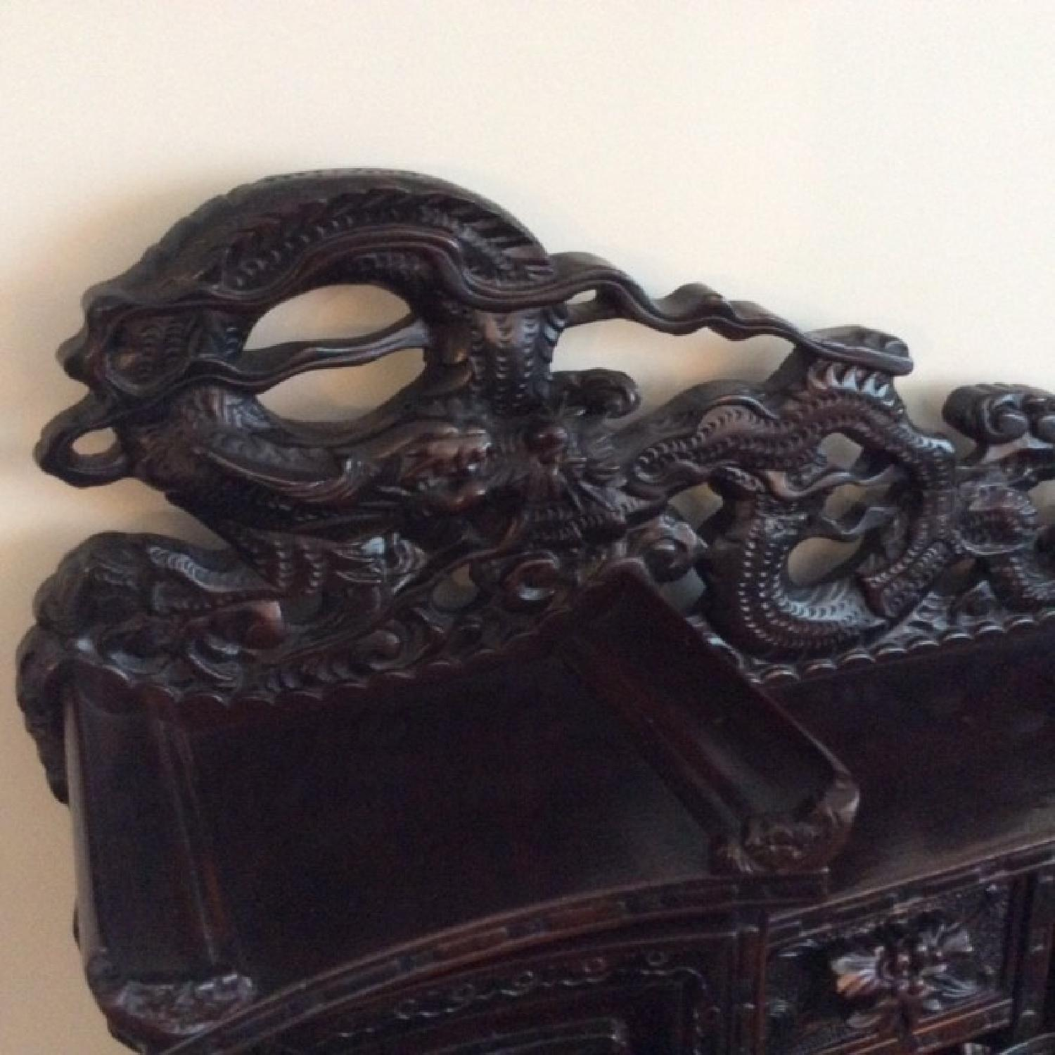 Chinese Hand Carved Desk-3