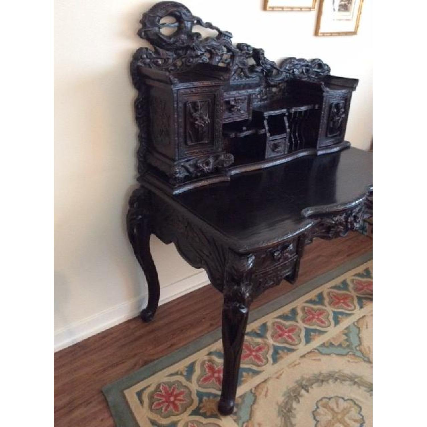 Chinese Hand Carved Desk-4