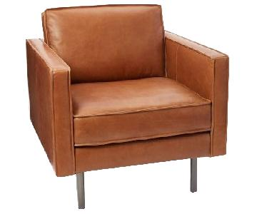 West Elm Axel Leather Chair