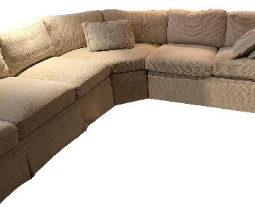 Custom Chenille Sectional Sofa