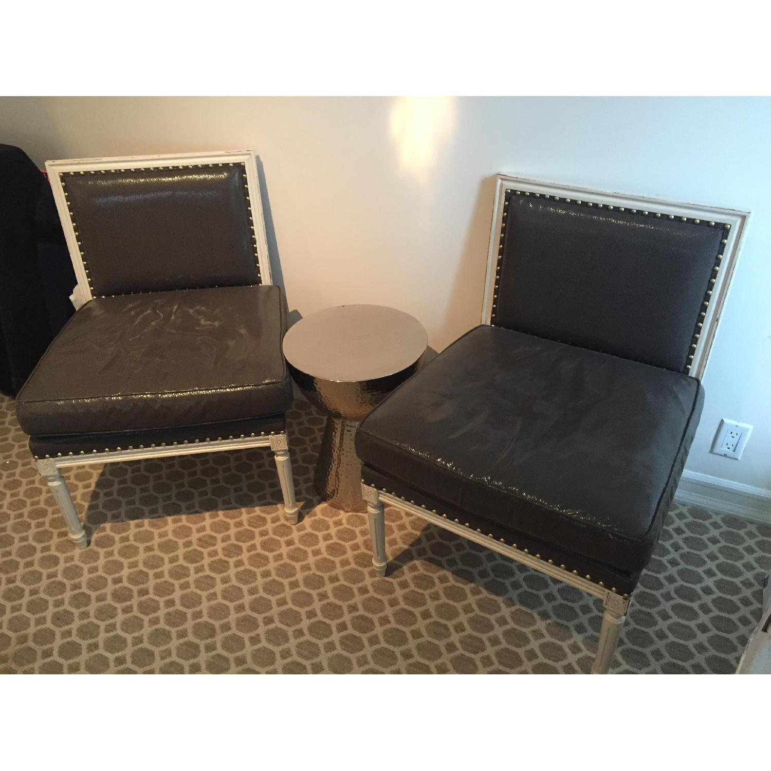 Grey Accent Chairs-0