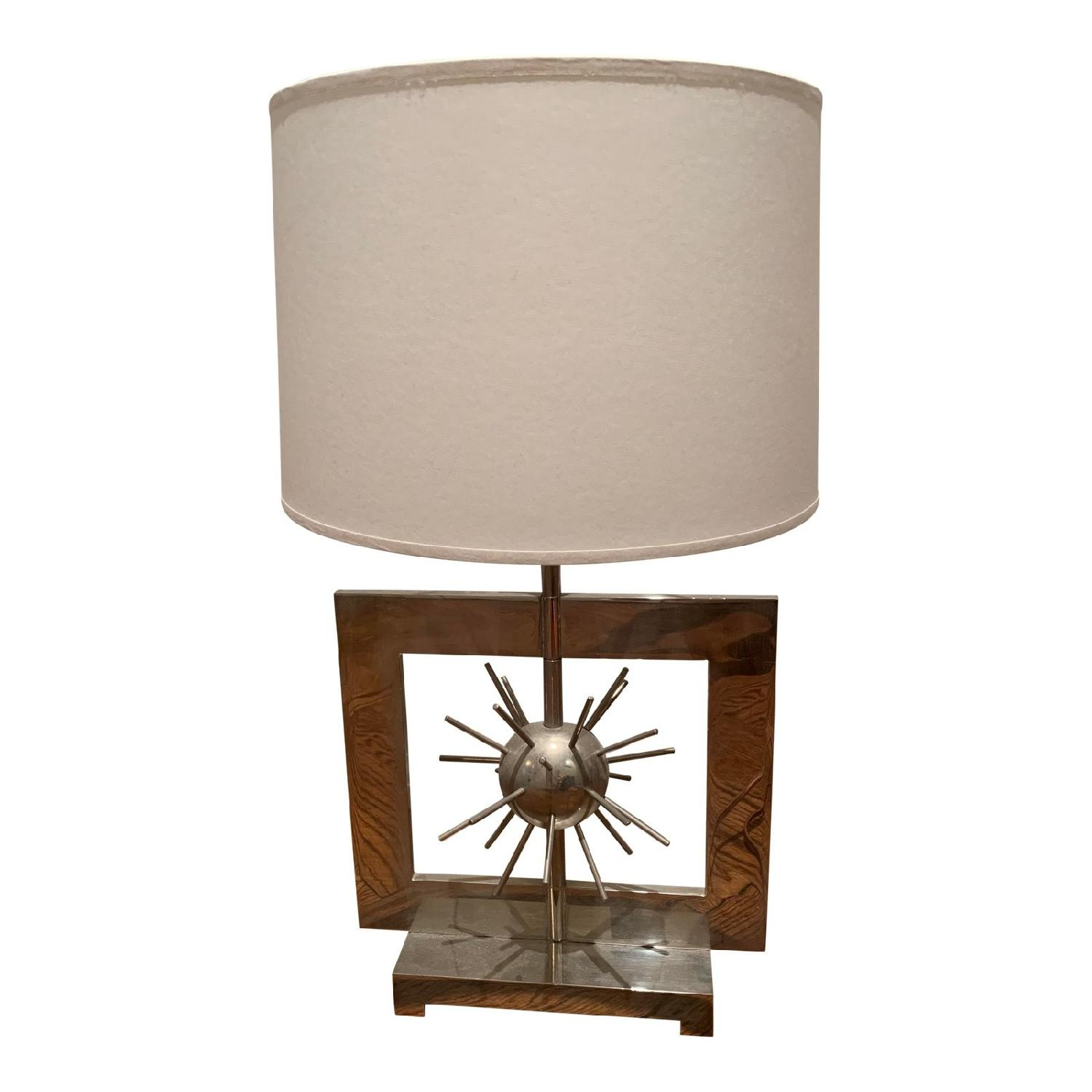 Spiked Accent Table Lamp