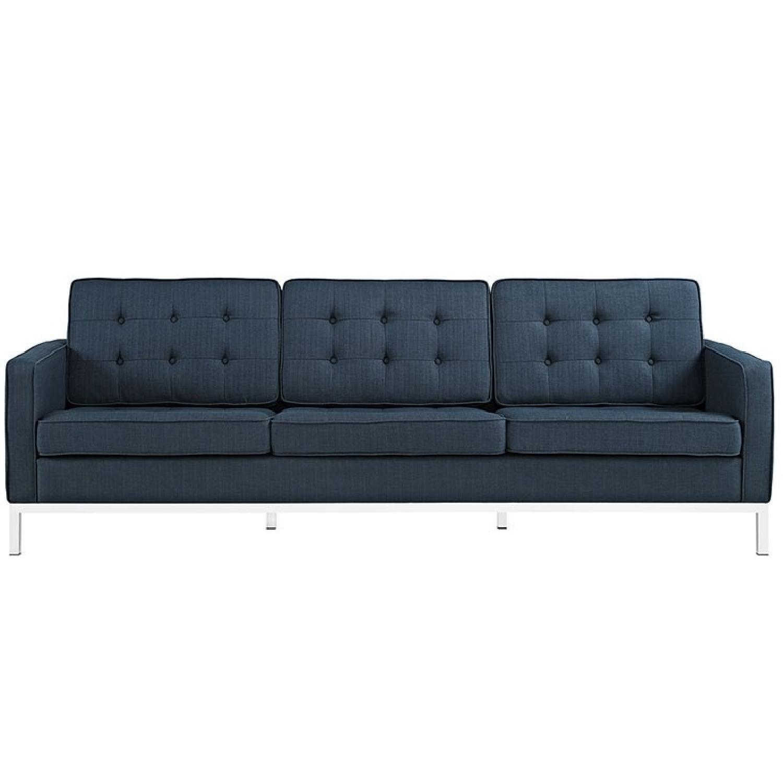 Manhattan Home Design Loft Fabric Sofa-0