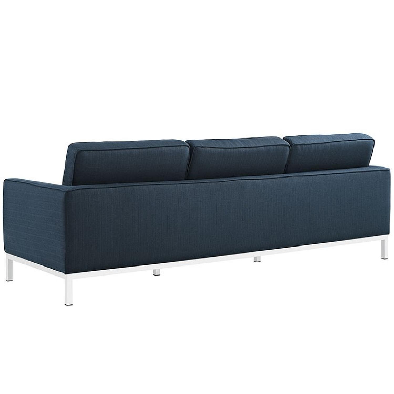 Manhattan Home Design Loft Fabric Sofa-1