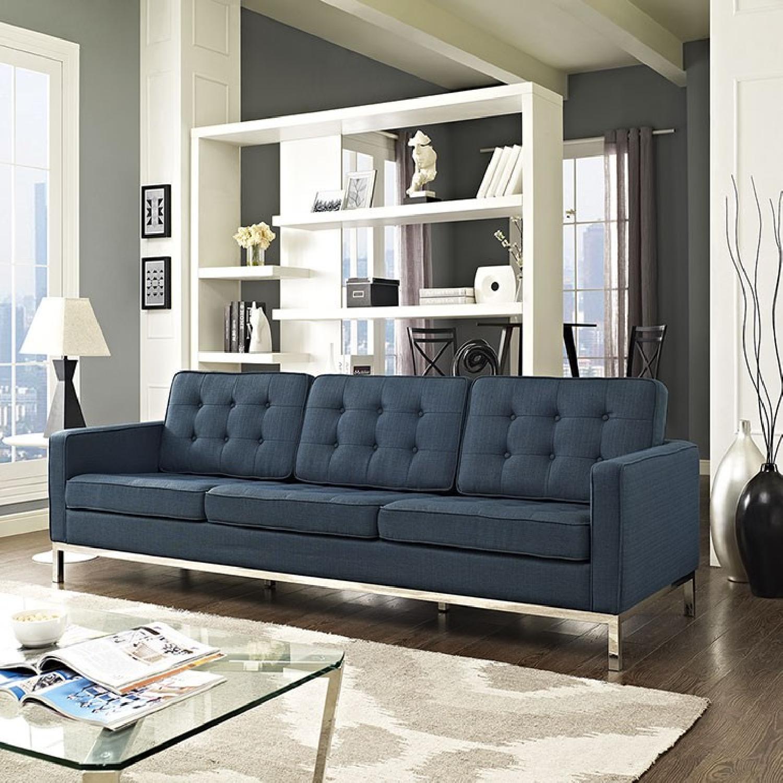 Manhattan Home Design Loft Fabric Sofa-2