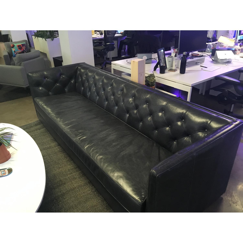 Room & Board Macalester Custom Leather Sofa-0