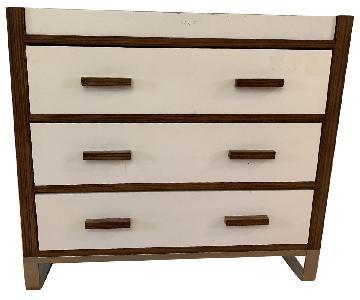 Danish Modern Dresser w/ Changing Table