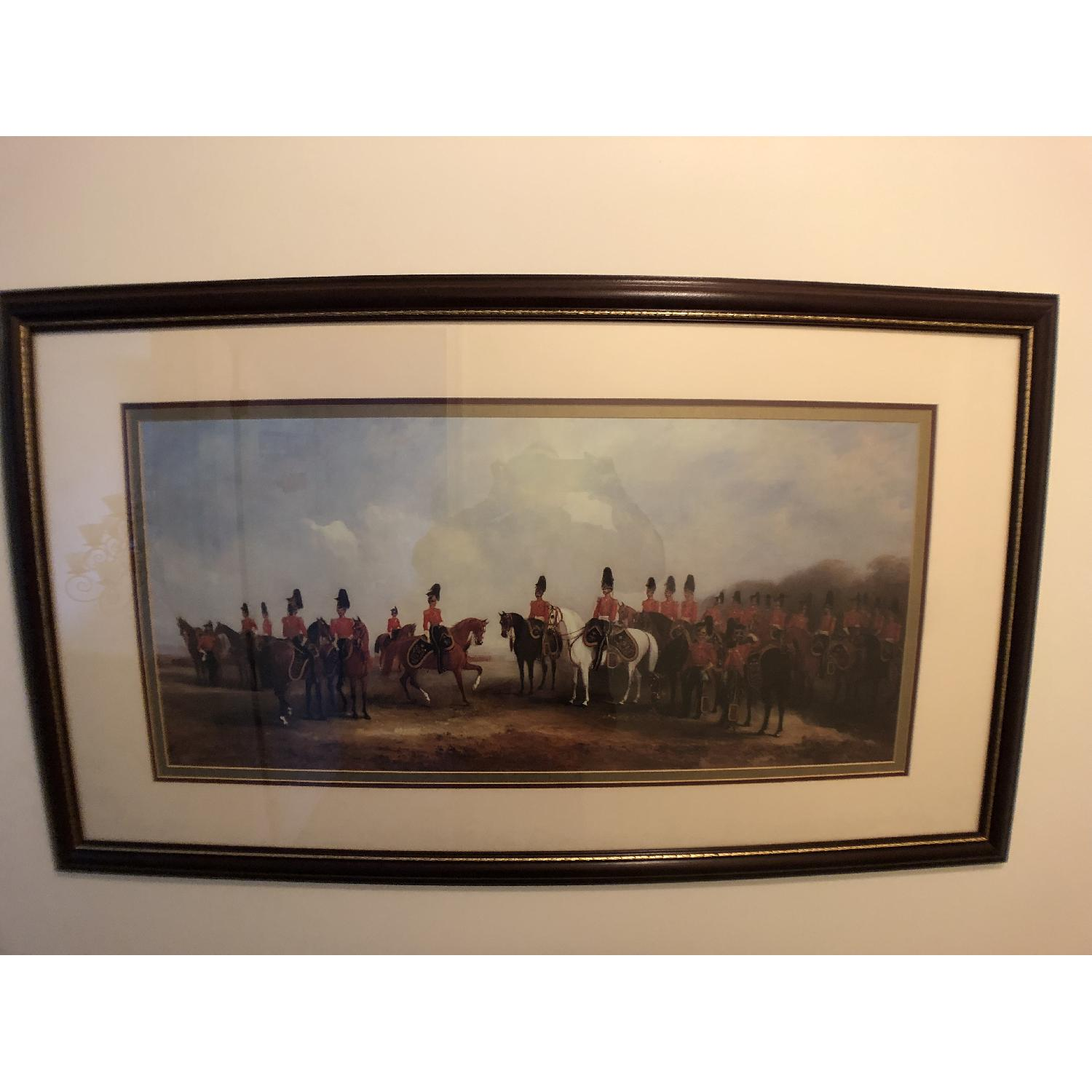Bombay Co. Framed Print of Cavalry-0