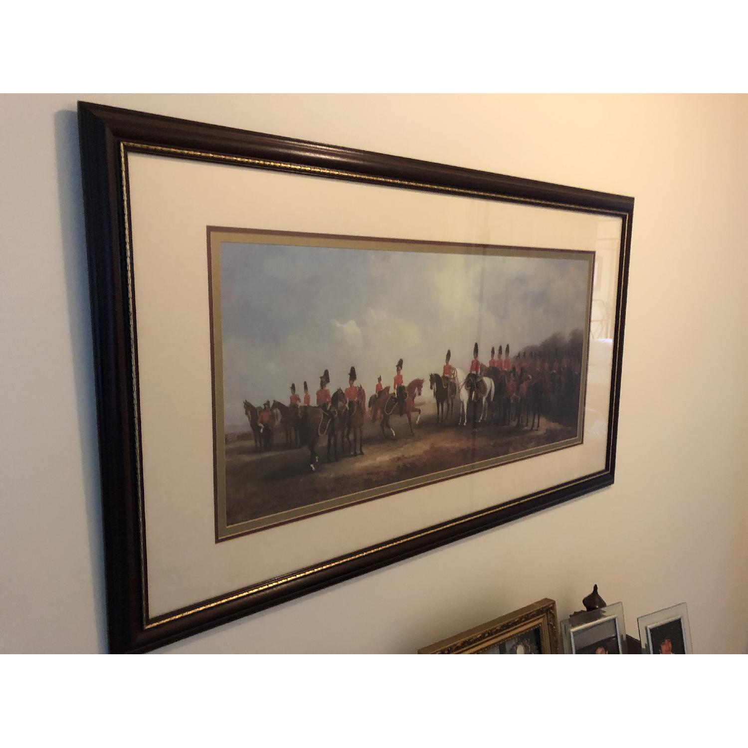 Bombay Co. Framed Print of Cavalry-1