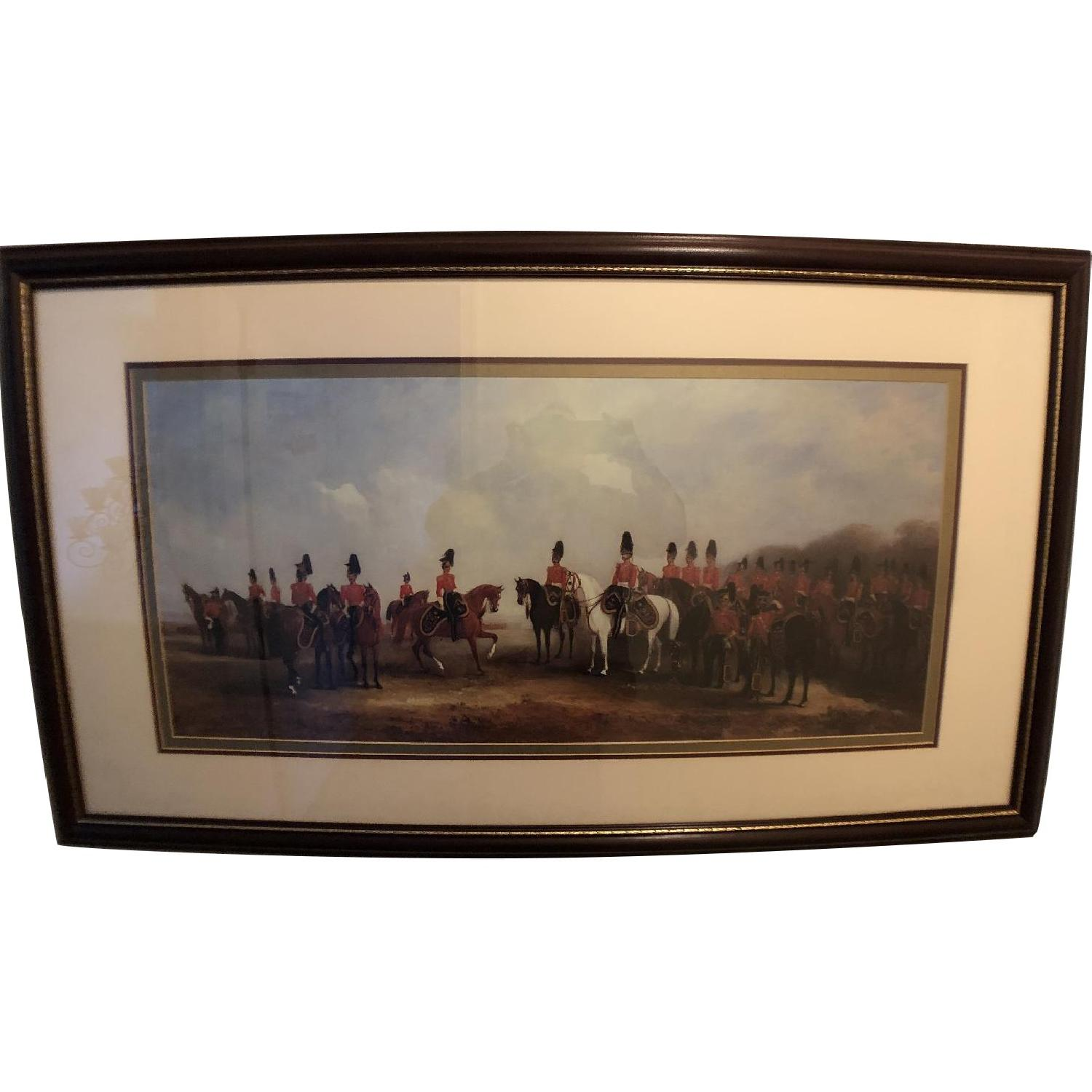 Bombay Co. Framed Print of Cavalry