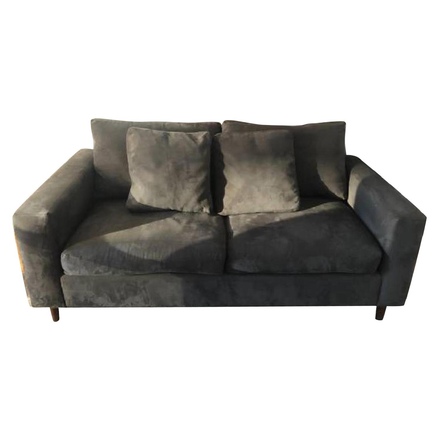 Dark Grey Two Seater Sofa