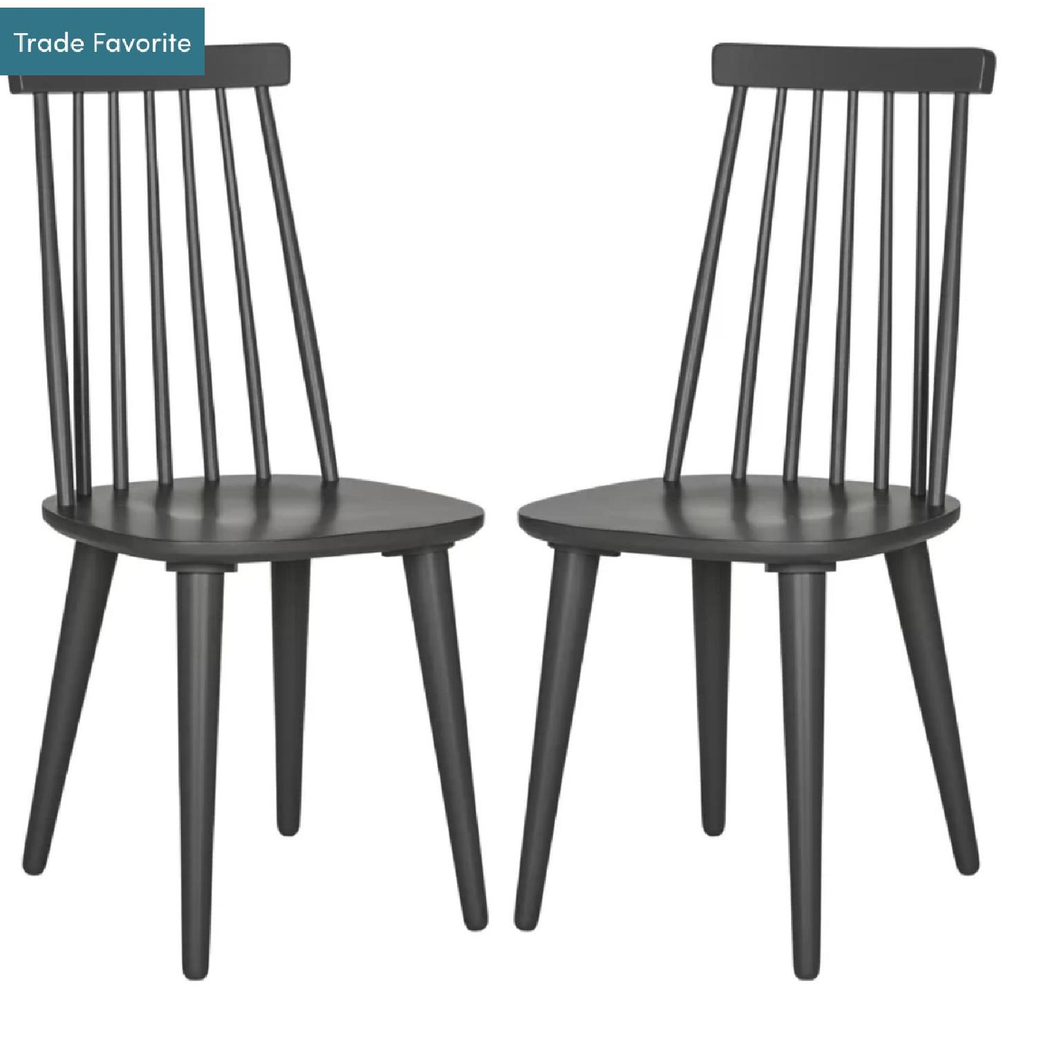 George Oliver Clarence Solid Wood Dining Chairs-0