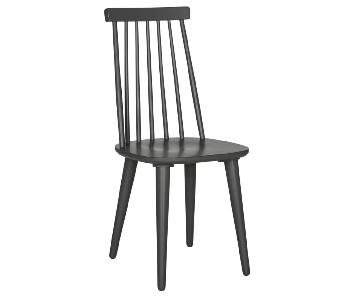 George Oliver Clarence Solid Wood Dining Chairs
