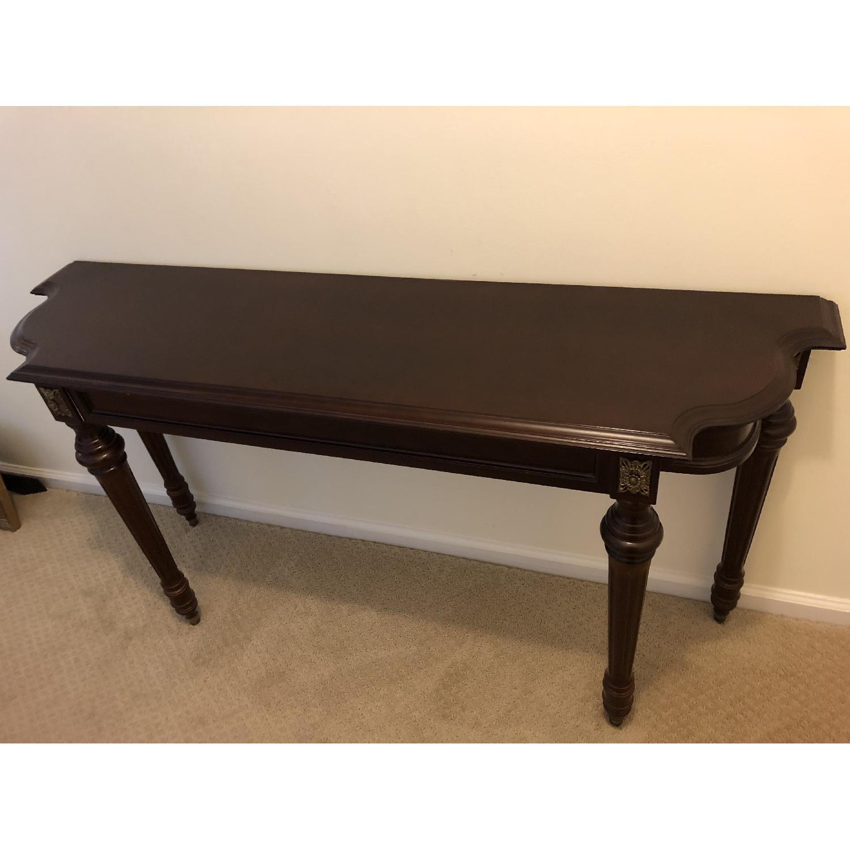 Bombay Company Wood Console Table-0