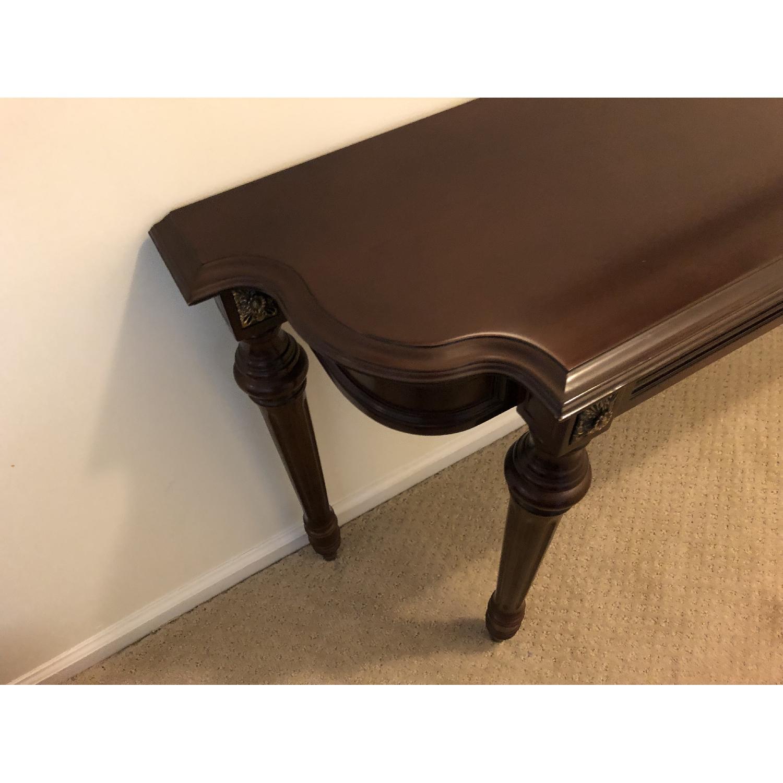 Bombay Company Wood Console Table-2