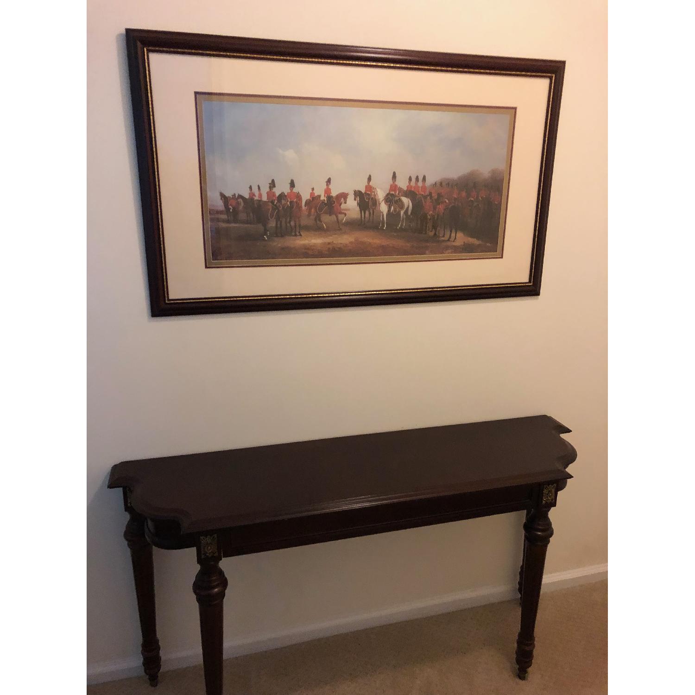 Bombay Company Wood Console Table-7