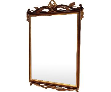 Vintage Italian Beveled Glass Mirror