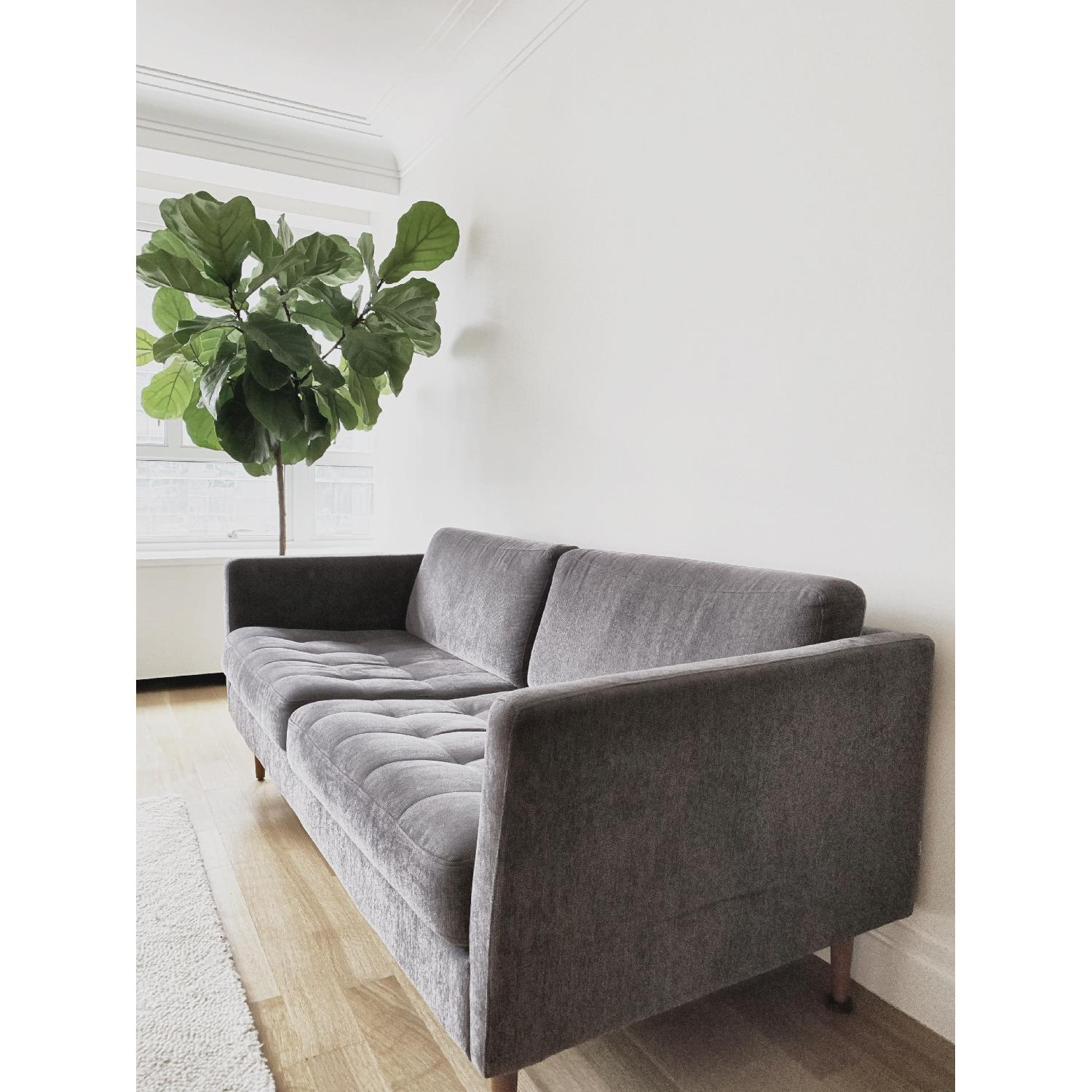 BoConcept Osaka 2.5 Seater Sofa in Dark Grey-1