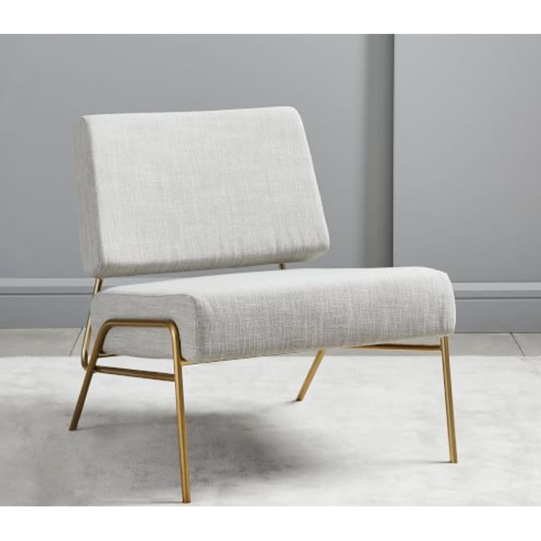 West Elm Wire Frame Slipper Chair-0