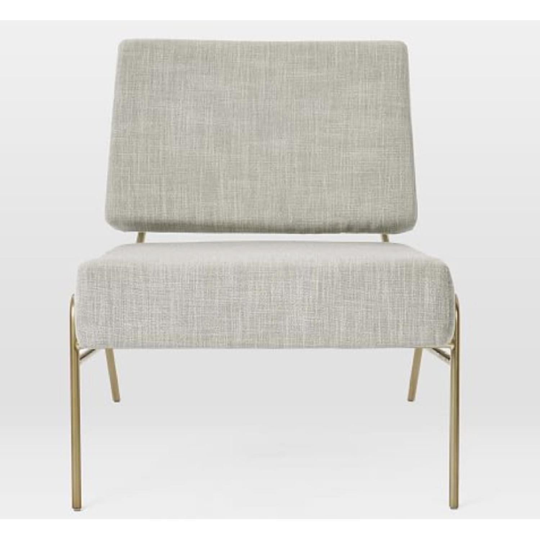 West Elm Wire Frame Slipper Chair-1